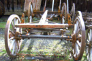 Used Farm or Covered Wagon Gear