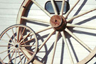 Custom Made Large Decorator Wagon Wheels