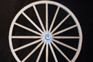 Large Decorator Wooden Wagon Wheels