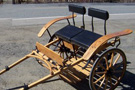 Horse Drawn Miniature Meadowbrook Cart