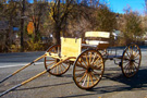 Horse Drawn Single Seat Buckboard
