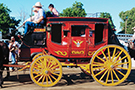 Used Wells Fargo Reproduction Stage Coach