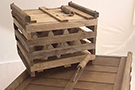 Wooden Egg Crates