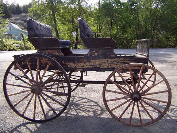 how to build a horse drawn buggy