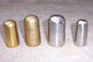 Brass & Nickel Plated Shaft Tips