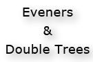 Eveners and Double Trees For Pony and Miniature Horses