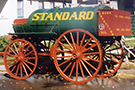 Used Horse Drawn Fuel Wagon