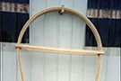 Covered Wagon Bows, Canvas, and Horse Shoe Bows