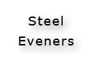 Steel Eveners For Pony, Standard and Draft Horses