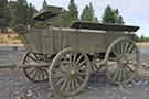 Horse Drawn US Army Escort Wagon