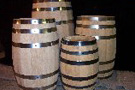 Wooden Water Barrels